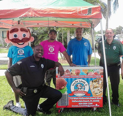 Hallandale Beach Event, Florida